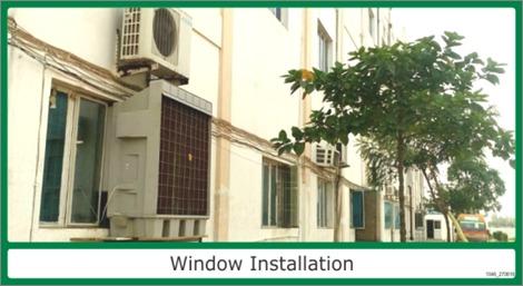 Window Installation cooler