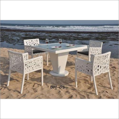 Plastic Beach Dinning Table Set