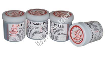 Solder Paste No CLean 63/37 (Sn/Pb)