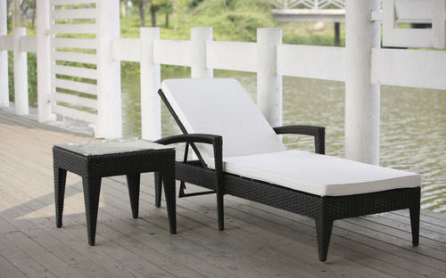 Belle Sun Lounger and Table