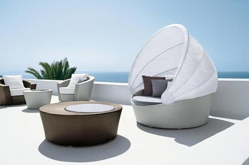 Roof Pool Side Lounger