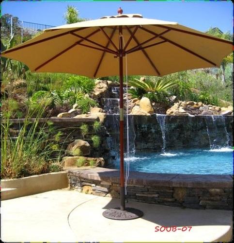 Stainless Steel Patio Umbrella