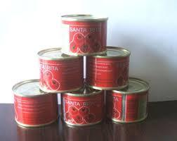 Tomato Paste With Brix 28-30% and more