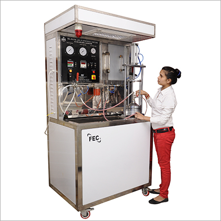 Oil Filter Flat Sheet Media Test Rig