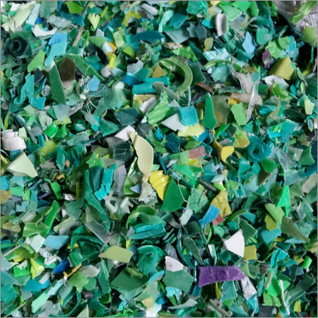 Green PP Cutting Chips