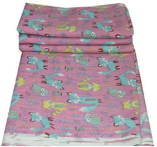 Animal Printed 60*60 Cambric Cotton Fabric