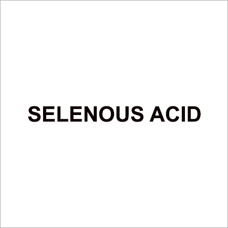 Selenic Acid Chemical
