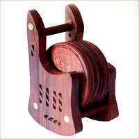 Wooden Tea Coasters