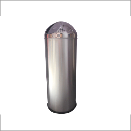 Stainless Steel Garbage Pushbin