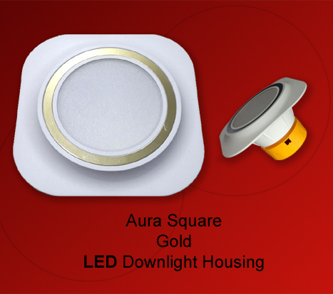 LED Plastic Housing