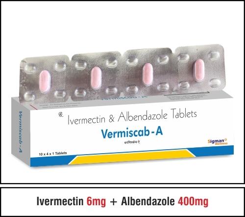 Ivermetcin 6 + Albendazole 400