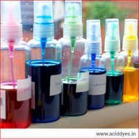 Acid dyes for waterbased inks