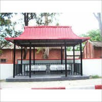 Steel Bus Stop Shelter