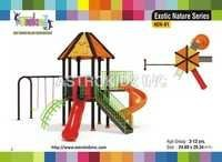 Colored Playground Slide