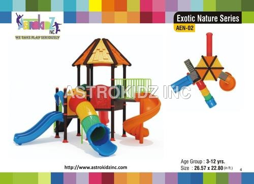 Designer Playground Slide