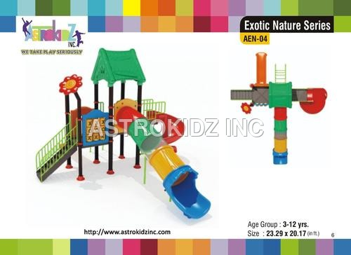 Plastic Playground Slides