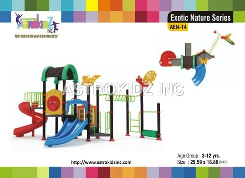 Playground School Slide