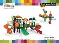 Kids Plastic Playground Slides
