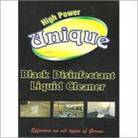 Black Disinfectant Liquid Cleaner
