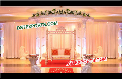 High Quality Crystal Wedding Mandap
