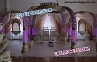 Indian Wedding Elephant Trunk Mandap Set