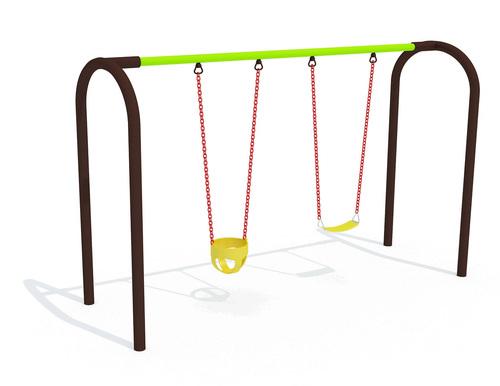 Kids Double Seat Swing