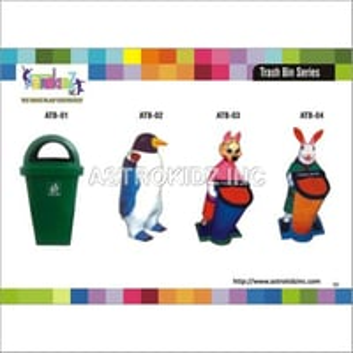 Cartoon Character Dustbin