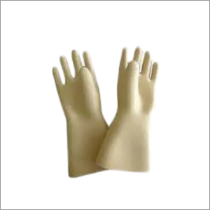 High Voltage Rubber Hand Gloves