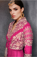 Stylish Party Wear Pashmina Suit