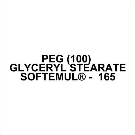 PEG 100 Glyceryl Stearate