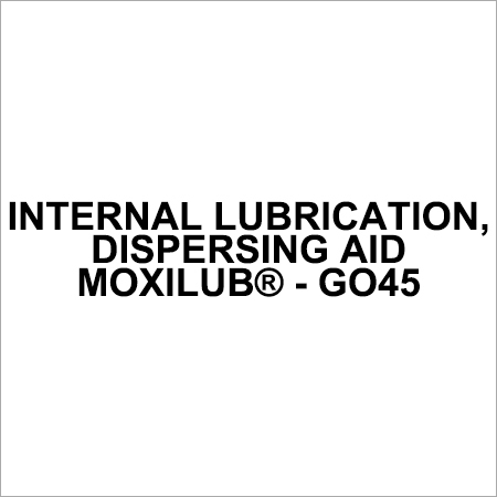 Dispersing Aid Internal Lubricant