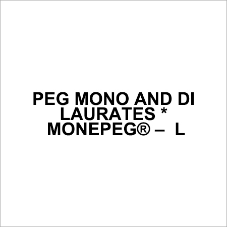 PEG Mono And Di Laureates