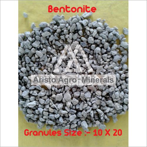 Unroasted Bentonite Granules