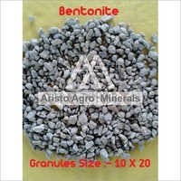 Unroasted Bentonite Granules