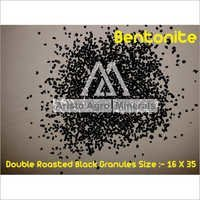 Double Roasted Black Bentonite Granules