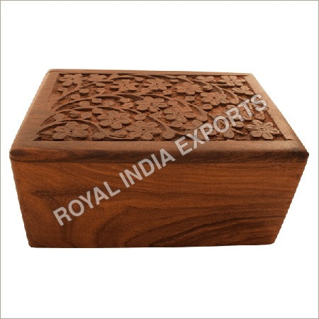 Wooden Boxes Urn