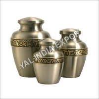 Avalon Pewter Brass Keepsake Cremation Urn