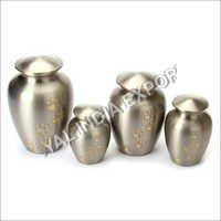 Pewter Paw Print Brass Urn