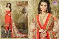 Misba-2 Georgette Straight Embriodary Suit
