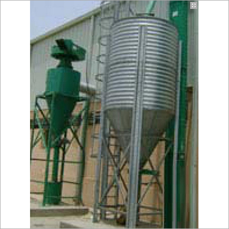 Galvanized Farm Silos