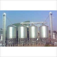 Galvanized Hopper Bottom Silos