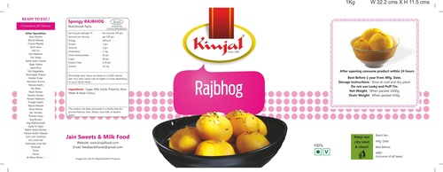 Rajbhog Tin Packing