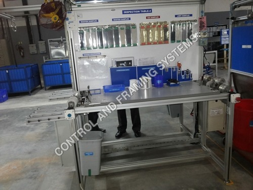 Aluminium Inspection Tables