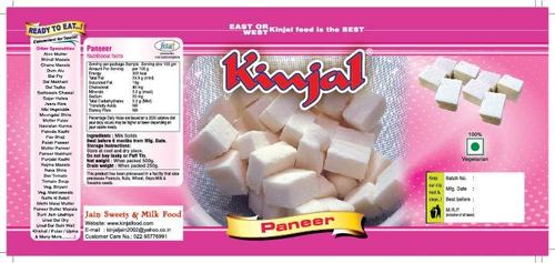 Paneer Cubes in Tin packing 500 grms