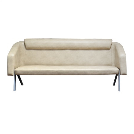 Wooden Three Seater Sofa