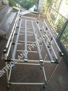 ABS Pipe Gravity Roller Track Fifo Rack