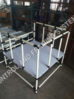 ABS Pipe Component Storage Structure