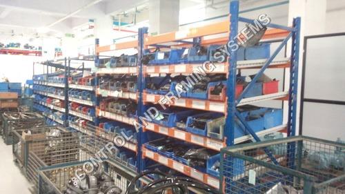 MS Slotted Angle Storage Racks