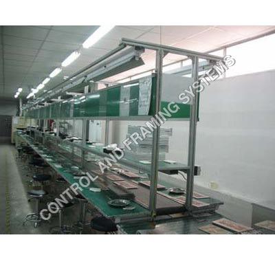 Aluminium Assembly Line with conveyor