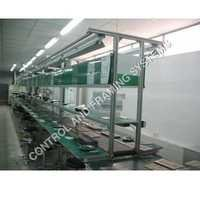 Aluminium Assembly Line with conveyor
